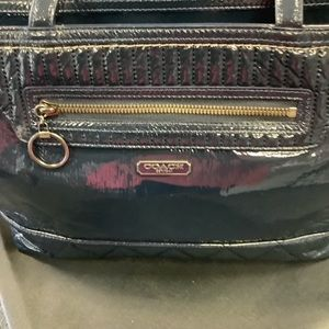 Coach Bags - Coach Poppy Large Navy Tote